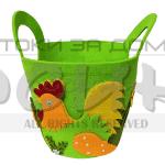 Великденска кошница за яйца и курабии