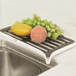 Сушилник за съдове и храни с отцеждане