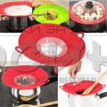 2в1 Капак против кипене и подложка за готвене на пара