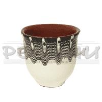 Керамична чаша 100гр/глинени съдове