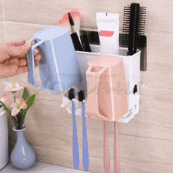 Комбинирана поставка за принадлежности и четки за зъби