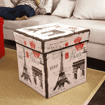 "Ретро табуретка-кутия ""Paris"""