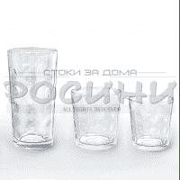 Комплект стъклени чаши за студени напитки 18бр.