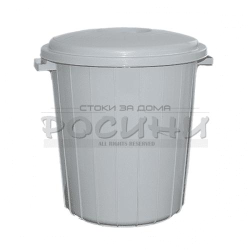 Кофа/кош с капак за боклук 70л.