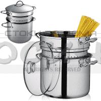 Тенджера за спагети и макарони 20х16см. Muhler