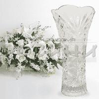 """Стъклена ваза 23см. """"Росини"""""""