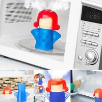 """Иновативен уред за почистване на микровълнова """"Engry Mama"""""""
