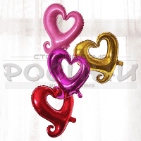 Празничен балон Сърце/фолиеви балони за парти