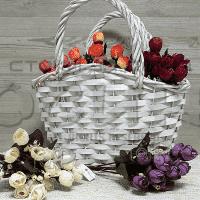 Изкуствен букет Полуразцъфнали Рози 5 стръка/декоративни цветя