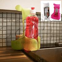 Поставка за мивка за препарат и гъба/органайзер