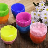 Цветни формички за мъфини 6бр./силиконови форми за печене