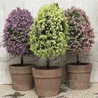 Цъфнало,изкуствено дърво в саксия/декоративни цветя