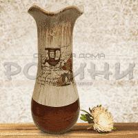 """Керамична ваза за цветя """"Chariot"""""""