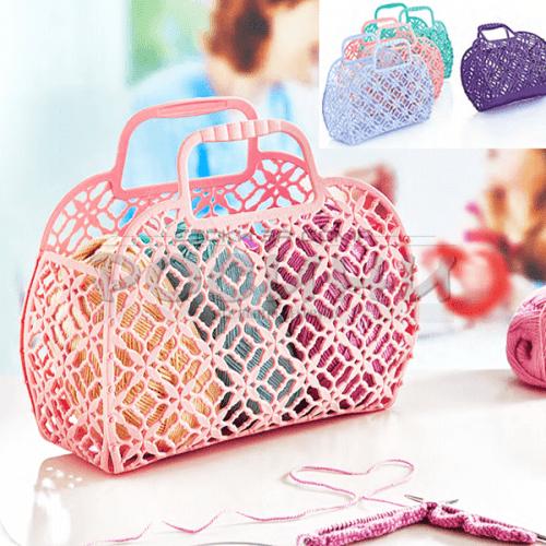"Пазарска чанта ""Lace""/пвц чанта за пазар"