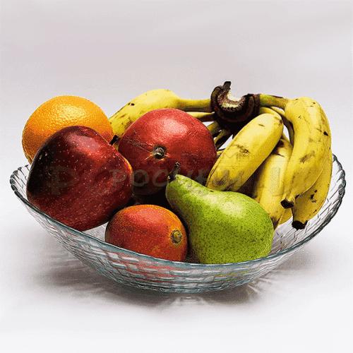 """Стъклена фруктиера """"Hassiri"""""""