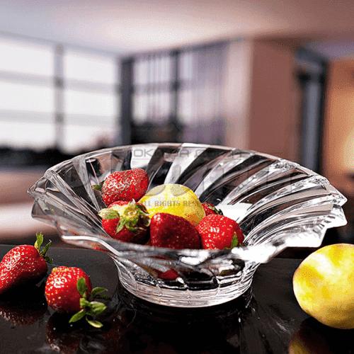 Стъклена фруктиера ALASKA/купа за плодове