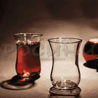 Стъклени чаши за турски чай 90мл./чаши за топли напитки