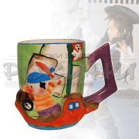 """Детска чаша с дръжка """"Пират"""""""