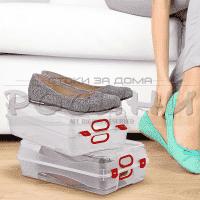 Кутия за обувки 31,5см. HOBBY LIFE/кутии за съхранение