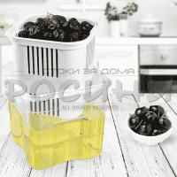 Кутия за маслини с кошница и капак Hobbylife