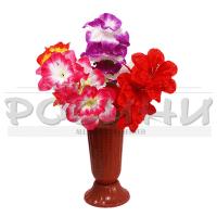 Декоративен букет китайска роза/изкуствени цветя за декорация