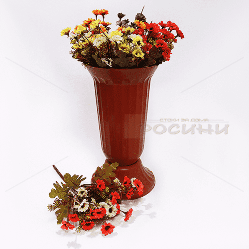 Декоративен букет есенни маргаритки/изкуствени цветя за декорация
