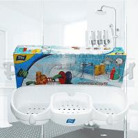 Поставка за баня с много отделения и закачалки/аксесоари за бани